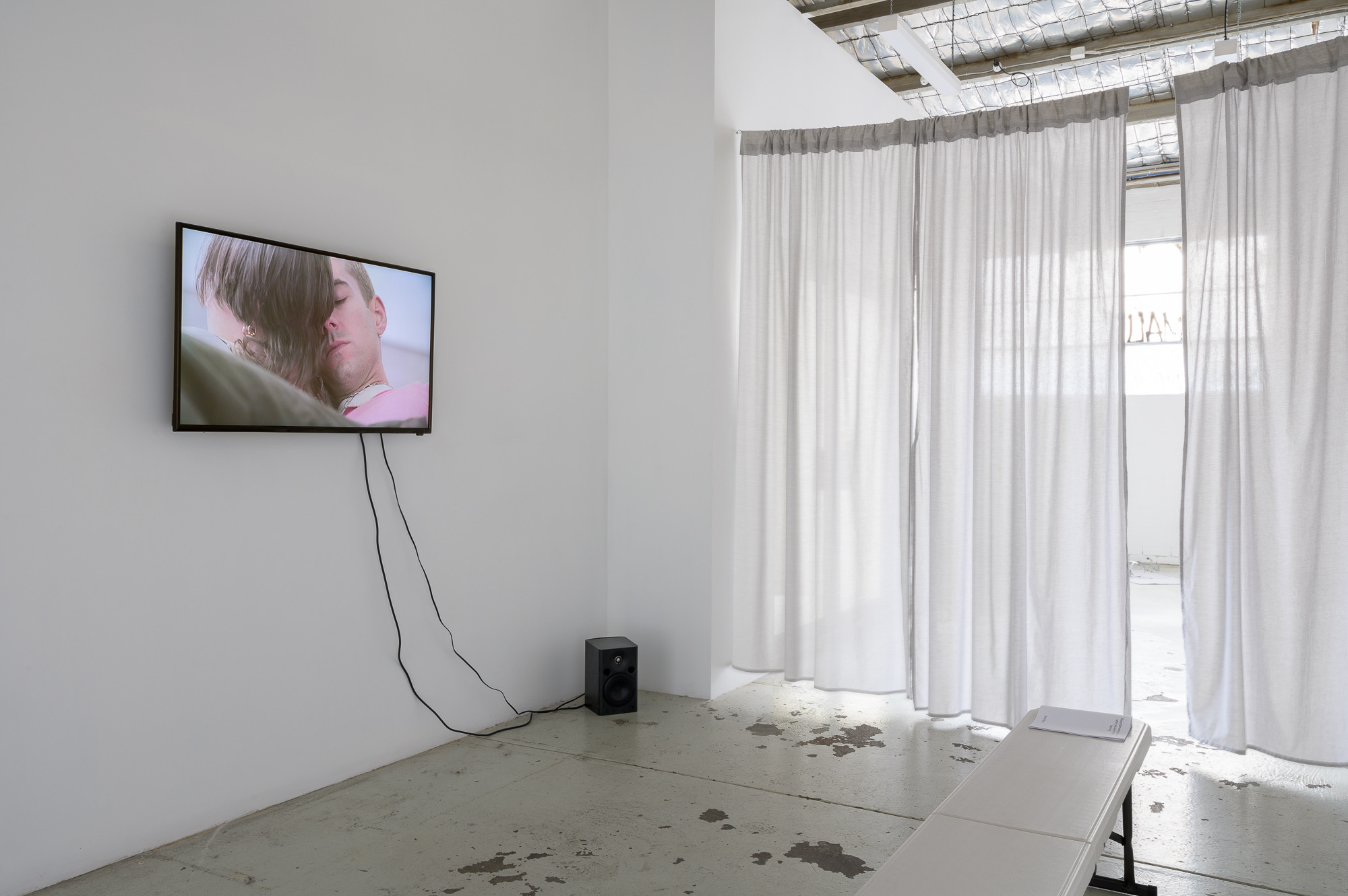 <p><i>Remember what you heard when you weren't even listening</i>, installation detail, TCB, Naarm (Melbourne).</p>